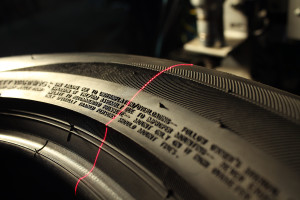 VISION TIRE SYSTEM 3D - Lettering process