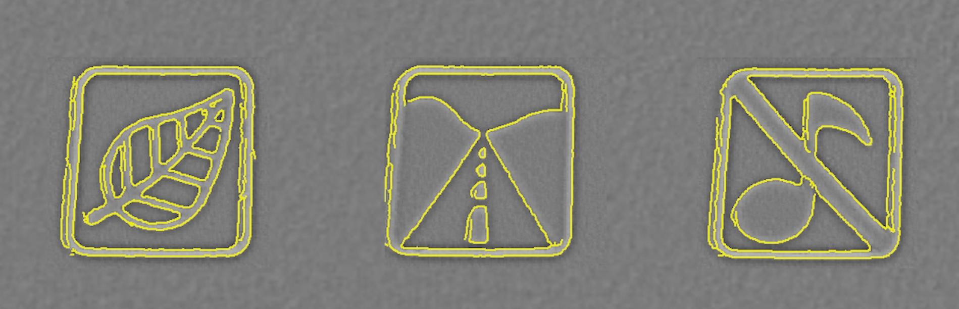 Lettering process - Symbols